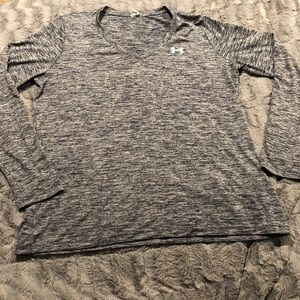 Under Armour long sleeve athletic T shirt
